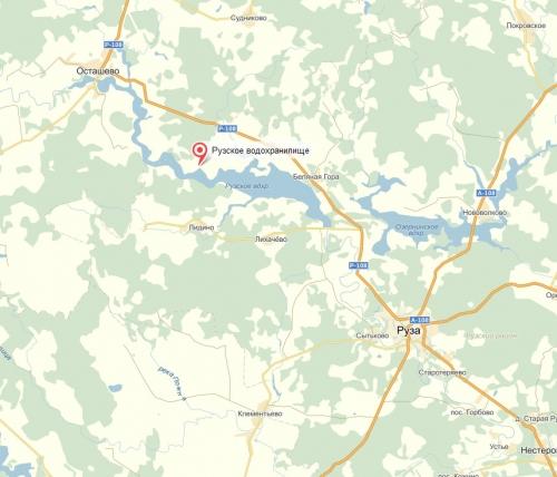 палашкино рузский район рыбалка